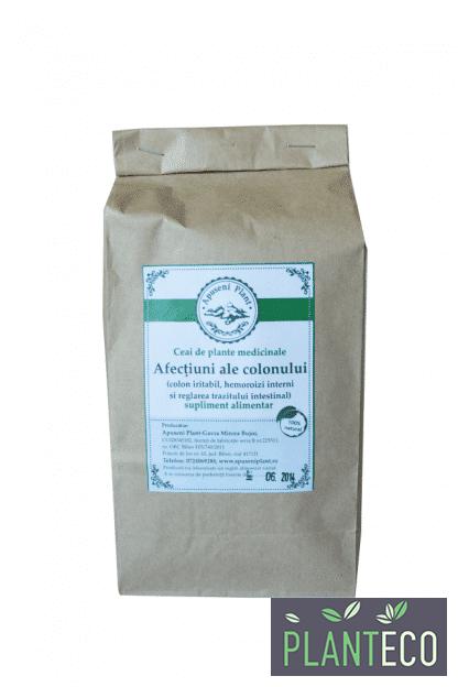 Ceai de Plante Medicinale pentru Afectiuni ale Colonului, 200g, Apuseni Plant