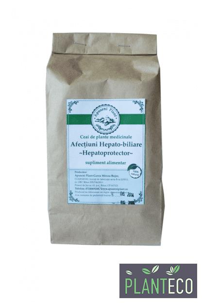 Ceai de Plante Medicinale pentru Afectiuni Hepato - Biliare, 200g, Apuseni Plant
