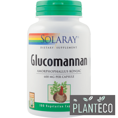 Glucomannan, 600mg, 100cps, Secom