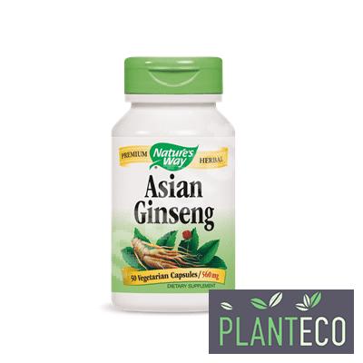 Asian Ginseng, 560mg, 50 cps, Secom