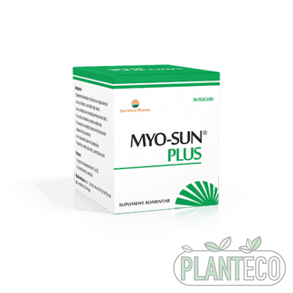Myo-Sun Plus, 30 plicuri, Sun Wave Pharma
