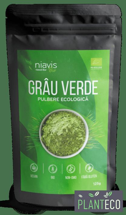 Grau Verde Pulbere Ecologica/BIO 125g, Niavis