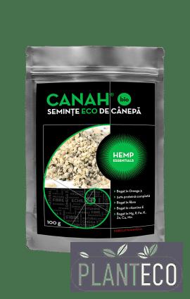 Seminte decorticate de canepa ECO 100g, Canah
