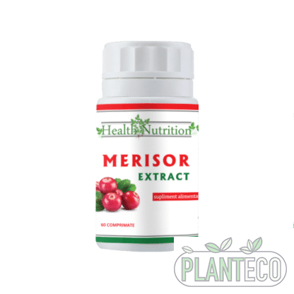 Extract Merisor, 60 cps, Health Nutrition