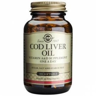 Cod Liver Oil, 100 cps, Solgar