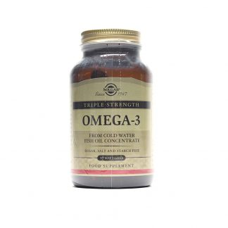 Omega-3 Triple Strength softgels, 50cps, Solgar