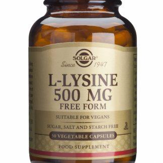 L-Lysine 500mg, 50cps, Solgar