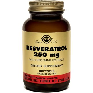 Resveratrol 250mg softgels, 30cps, Solgar