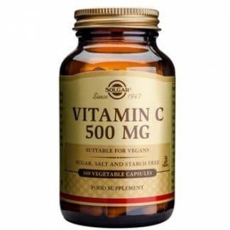 Vitamina C 500mg, 100cps, Solgar
