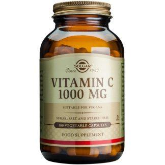 Vitamina C 1000mg veg.caps, 100cps, Solgar