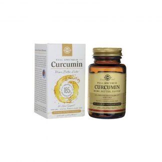Curcumin Full Spectrum, 30 cps, Solgar