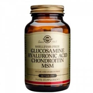 Glucosamine Hyaluronic Acid Chondroitin MSM,  60cps, Solgar