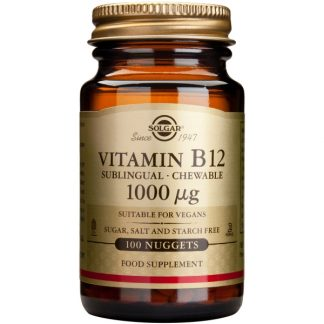 Vitamina B-12 1000mg nuggets, 100cps, Solgar