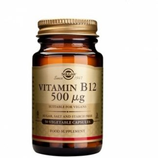 Vitamina B-12 500mg veg.caps, 50cps, Solgar