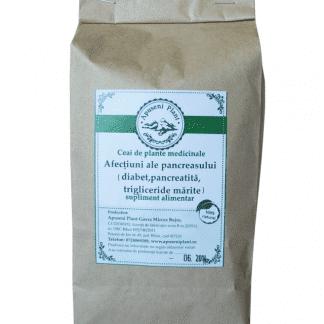 Ceai de Plante Medicinale pentru Afectiuni ale Pancreasului, 200g, Apuseni Plant