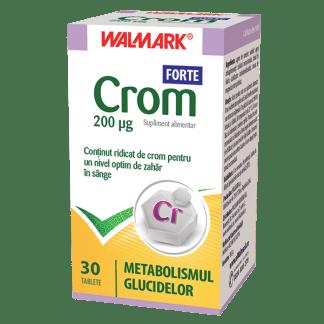 Crom Forte, 200mg, 30 tb, Walmark