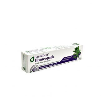 Pasta dinti GennaDent Homeopatic, 80ml, Viva Natura