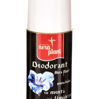 Deodorant cu Menta si Lamaie Verde, 50ml, Nera Plant
