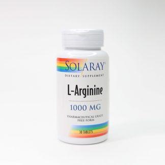 L-Arginine, 1000mg, 30tb, Secom