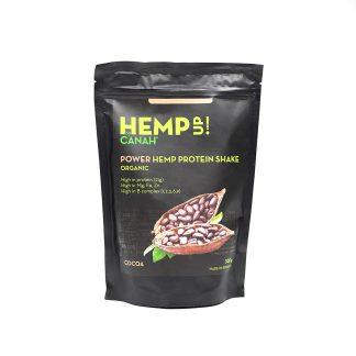 Power Shake Proteic de Canepa si Cacao ECO, 300g, Canah