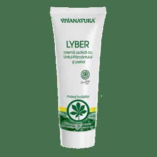 Crema Antireumatica Lyber cu Untul Pamantului si Petrol, 250ml, Viva Natura