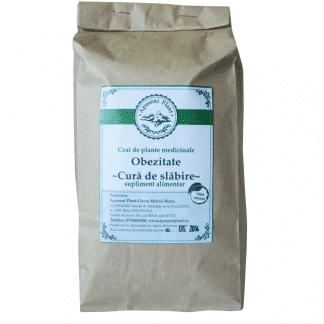 Ceai de Plante Medicinale pentru Obezitate, Cura de Slabire si Detoxifiere 200g, Apuseni Plant