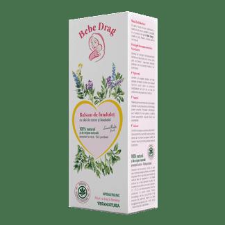 Balsam de Fundulet cu Ulei de Cocos si Bisabolol, 75 ml, VivaNatura