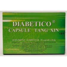 Diabetico - Capsule Tang Xin, 18 cps, Cici Tang