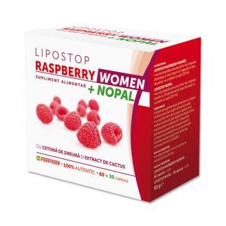 Lipostop Raspberry Women+Nopal, 90 cps, Parapharm