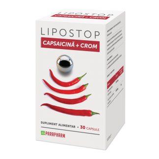 Lipostop Capsaicina+Crom, 30 cps, Parapharm