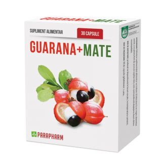 Guarana+Mate, 30 cps, Parapharm