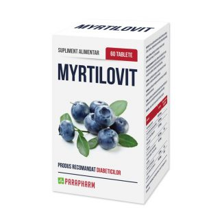 Myrtilovit, 60 tablete, Parapharm