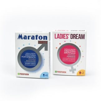 PACHET Maraton Forte 4cps + Ladies' Dream 2cps