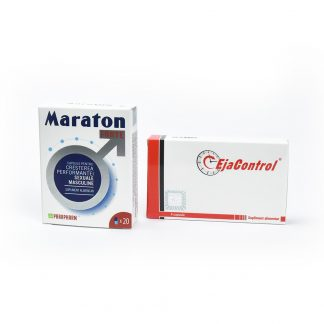 PACHET Maraton Forte 20 cps + EjaControl 4 cps