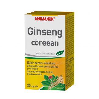 Ginseng Coreean, 30 cps, Walmark