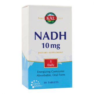 NADH 10mg, 30 tb, Secom