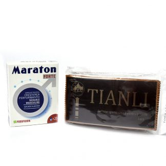PACHET Maraton Forte 20 cps + Tianli Servetele Umede 10 buc
