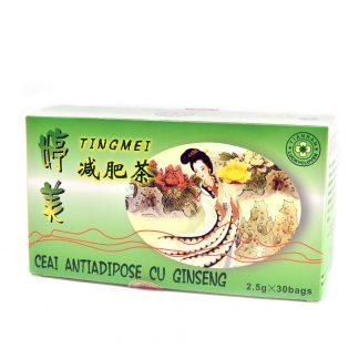 Ceai Antiadipos cu Ginseng, 30 plicuri, Sanye Intercom
