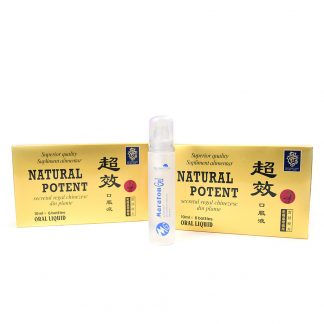 PACHET Natural Potent 12 fiole + Maraton Gel 50 ml, Naturalia Diet