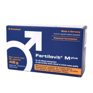 Fertilovit M Plus, 60 capsule, Gonadosan