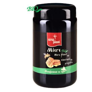 Miere cu tinctură de propolis, 550g, Nera Plant