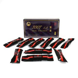 PACHET Toot UP 7 fiole + Miere pentru Potenta 10 pliculete