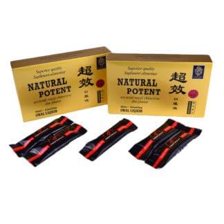 PACHET Natural potent 12 fiole + Miere pentru Potenta 5 pliculete