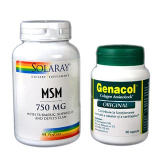 Pachet Mobilitate Genacol + Msm