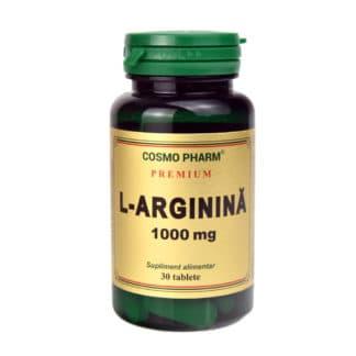 L-Arginina, 1000mg, 30tb, Cosmopharm