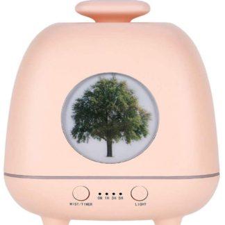 Difuzor Aromaterapie Dropy Tree Roz, 230 ml