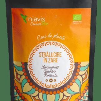 """Ceai Ecologic/BIO """"Stralucire in Zare"""" 50g, Niavis"""