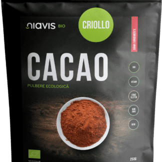 Cacao Criollo Pulbere RAW Ecologica/Bio 250g, Niavis