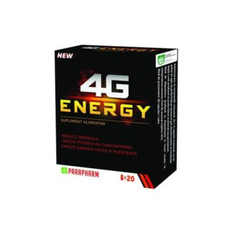 4G Energy, 20 cps, Parapharm