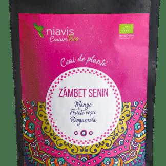 "Ceai Ecologic/BIO ""Zambet Senin"" 50g, Niavis"